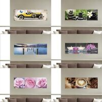 Modern Bedroom Living Room Triptych Wall Sticker Vinyl Photo Removable Decal