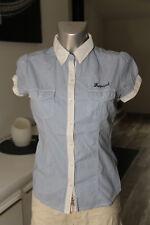 chemise vichy manches courtes femme KAPORAL modèle W4 jack 7 XS excellent état