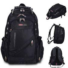 Men's Large Capacity Laptop School Backpack Outdoor Travel Bag Swiss Anti Thief