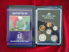 1999 Proof Set - International Year of Older Persons, Royal Australian Mint