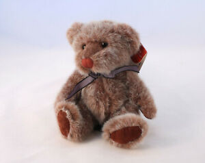 """Russ Berrie & Co """"Rafferty"""" Teddy Bear Plush SOFT TOY 14cm Bears From The Past"""