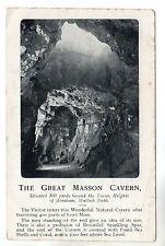 Great Masson Cavern - Matlock Bath - Photo Postcard 1909