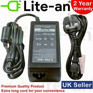For Toshiba Satellite Pro C650D C660D C670 C850D C855 C870 Laptop Charger 65W