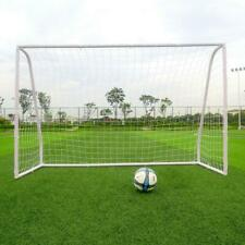 8' x 5' Soccer Goal With Net Strong Straps Anchor Large Soccer Goal Sports