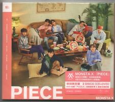 Monsta X: Piece - Japanese Album (2018) CD & DVD SEALED