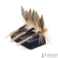 3, 6 or 12x Ginger Quill Dry Trout Flies for Fly Fishing