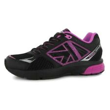 Karrimor Tempo 4 Older Girls UK 3 EU 36 Black Pink Silver Running Shoes Trainers