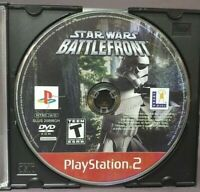Star Wars Battlefront -  Sony Playstation 2 PS2 Game Lot Tested / Working
