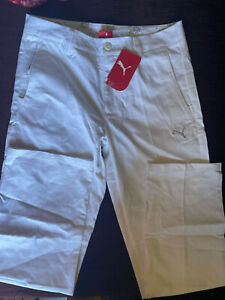 PUMA Golf Style man pants_white_size (S) W30/L32_new with tags