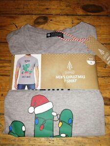 Men's Christmas T-shirt Size L Bnwt
