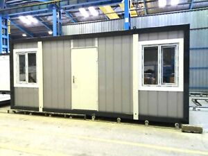 Bürocontainer Baucontainer Container Wohncontainer Container 6,0mx2,40m
