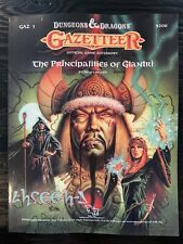 D&d GAZ3 - Gazetteer - The Principalities of Glantri - TSR 9208 - Pod Softcover