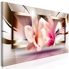 Fiori magnolie astratto immagini muro immagini XXL tessuto non tessuto tela b-a-...