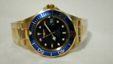 Invicta Men's Automatic Watch Pro Diver Blue Gold 8930 new without tags.
