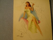 Vintage 1955 Prescription Pin Up By Withers Small Advertising Note Pad