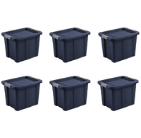 Rubbermaid Commercial Brute Tote Storage Bin With Lid 14