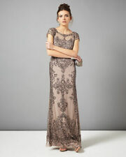 Sequin A-line Cap Sleeve Wedding Dresses