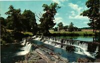 Vintage Postcard - Gleneri Falls Near Saugerties Unposted New York NY #1816