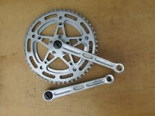 STRONGLIGHT 49D PEDALIER VELO COURSE ANCIEN BICYCLE CRANKSET 170 42 52