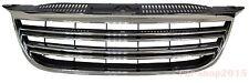 Front Grille for VW Tiguan 2007-2011 Volkswagen Chrome & Black