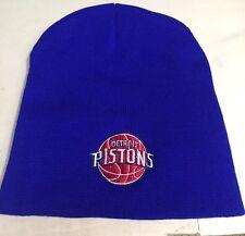 Detroit Pistons Royal Blue Beanie New Winter Hat Scull Cap