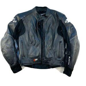 Joe Rocket Motorcycle Blaster Leather Jacket For Women Rocket Girl Padded Sz M