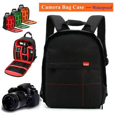 Waterproof DSLR Camera Backpack Shoulder Bag Case For Canon / Nikon / Sony New