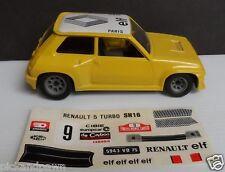 Politoys Polistil Italy Yellow Diecast Renault Turbo Elf Paris Car 1:22 Scale