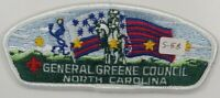 General Greene Council 418 Greensboro, NC White BDR CSP MINT V5 [B1888]