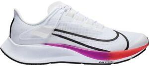 NEW Nike Air Zoom Pegasus 37 FlyEase White Multi-Color CK8474-100 Men's Size 12