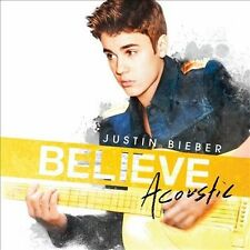 Believe Acoustic by Justin Bieber CD (More CDs in my eBay Store)