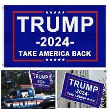 Trump 2024 President Flag Take America Back  3x5 Feet Donald MAGA Republican