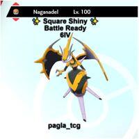✨ Shiny Naganadel ✨ Pokemon Sword and Shield Perfect 6IV Battle ready
