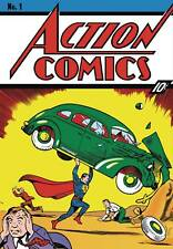"""DC Comics Superman First Appearance Cover Comic Canvas 13"""" X 18"""""""