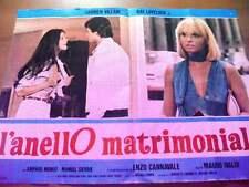 Fotobusta L'ANELLO MATRIMONIALE 1978 Carmen Villani (3)