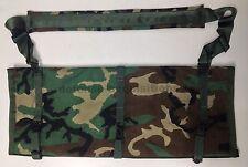 New USGI Woodland Camo Range Bag Barrel Bag Spare Barrel Gun Case HK Style Clips