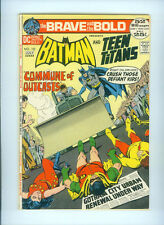 THE BRAVE AND THE BOLD (1972) 102  BATMAN TEEN TITANS NEAL ADAMS ORIGIN ROBOTMAN