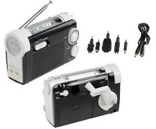 NEW PORTABLE MULTIFUNCTION RADIO, TORCH, LAMP WITH EMERGENCY DYNAMO CHARGING
