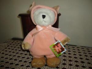 Ganz Wee Bear Village MUDFORD PIG Bear Large 10 inch New with Tags