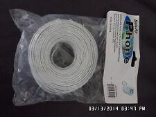100 feet white phone cord