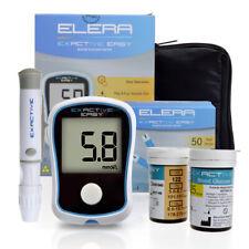 ELERA Blood Glucose Meter Medical Device for Measuring Blood Sugar Glucometer