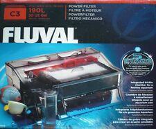 Fluval C3 Außenfilter Aquariumfilter 5 Phasen Biofilter Aquarium AquaClear