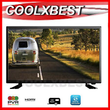 "23.6"" (24) LED FULL HD DIGITAL TV DVD PLAYER COMBO USB 12v 240v CARAVAN HOME"