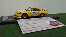 RENAULT ALPINE 1800 n°25 1975  1/43 SOLIDO 42113406 voiture miniature collection