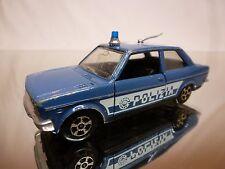 POLISTIL EL76 FIAT 131 MIRAFIORI - POLIZIA - BLUE 1:43 - GOOD CONDITION