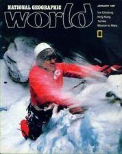 National Geographic World Magazine 1987 January