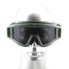 Tactical Airsoft Cycling Paintball Climb SWAT Wire Mesh Lens Goggles Eyewear AG