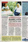 Coupure de presse Clipping 1994 (1 page) Didier Barbelivien et Léo Ferré