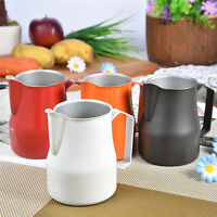 Motta Stainless Steel Milk Frothing Jug Coffee Pitcher Cup 12/19/126 Fluid Ounce