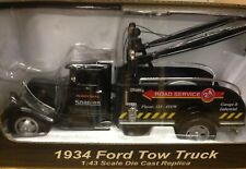 Snap On Tool Collectable 1934 Ford Tow Truck 1:43 Scale Die Cast Pull Back